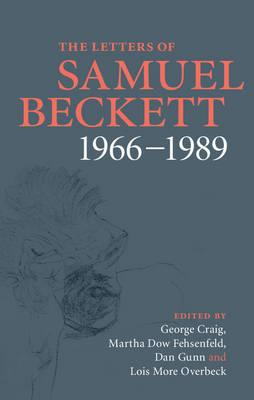 Letters of Samuel Beckett: Volume 4, 1966-1989 (BOK)