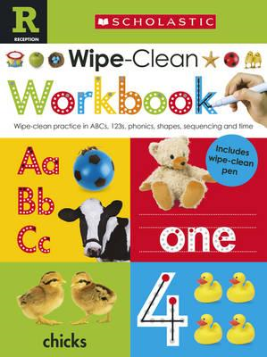 Scholastic Early Learners: Wipe Clean Workbook (Reception) (BOK)