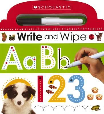 Write and Wipe ABC 123 (BOK)