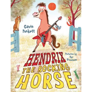 Hendrix the Rocking Horse (BOK)