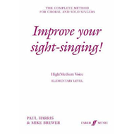 Improve Your Sight-singing! (BOK)