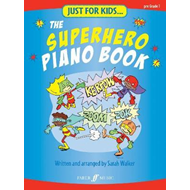 Produktbilde for Just For Kids... The Superhero Piano Book (BOK)