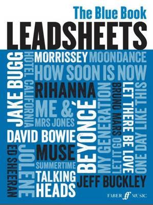 Leadsheets (Blue Book) (Melody, Chords and Lyrics) (BOK)