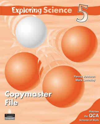Exploring Science Copymasters 5: Year 5: Copymasters (BOK)
