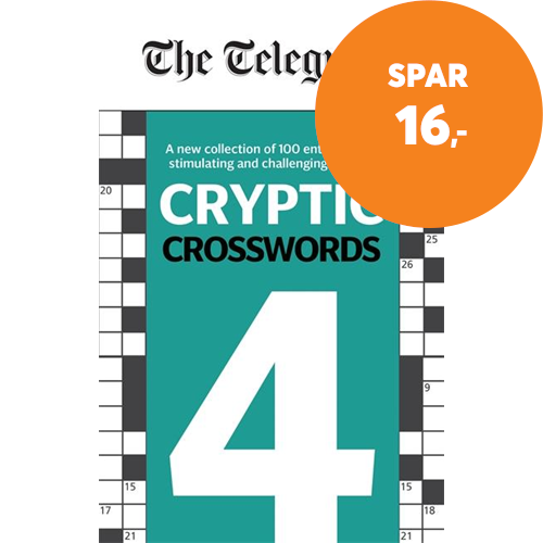 Telegraph Cryptic Crosswords 4 (BOK)