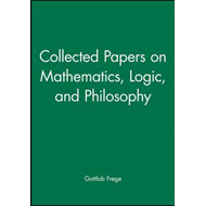 Collected Papers on Mathematics, Logic, and Philosophy (BOK)