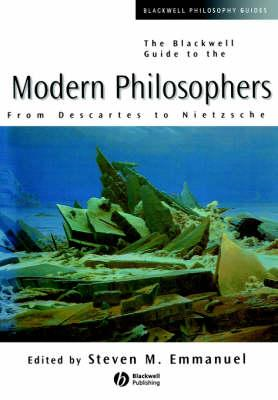 Blackwell Guide to the Modern Philosophers (BOK)