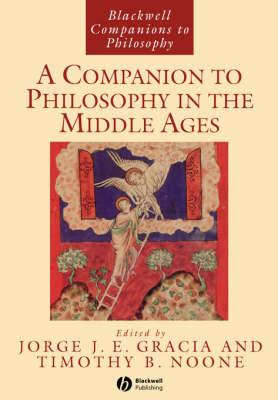 A Companion to Philosophy in the Middle Ages (BOK)