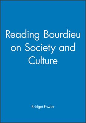 Reading Bourdieu on Culture and Society (BOK)