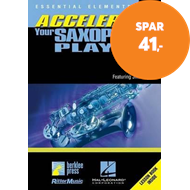 Produktbilde for Essential Elements: Accelerate Your Saxophone Playing (BOK)