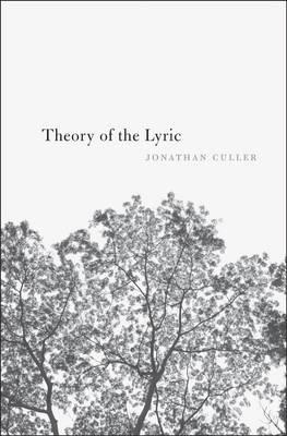 Theory of the Lyric (BOK)