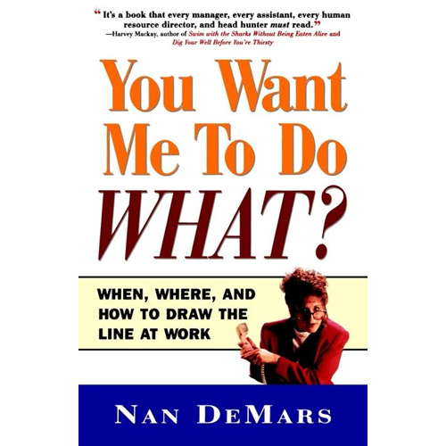 You Want Me to Do What (BOK)