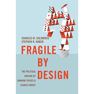Produktbilde for Fragile by Design - The Political Origins of Banking Crises and Scarce Credit (BOK)