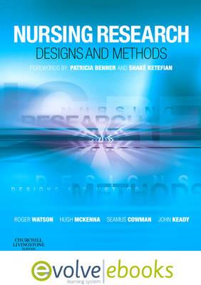 Nursing Research: Designs and Methods (BOK)