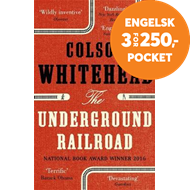 Produktbilde for The Underground Railroad - Winner of the Pulitzer Prize for Fiction 2017 (BOK)