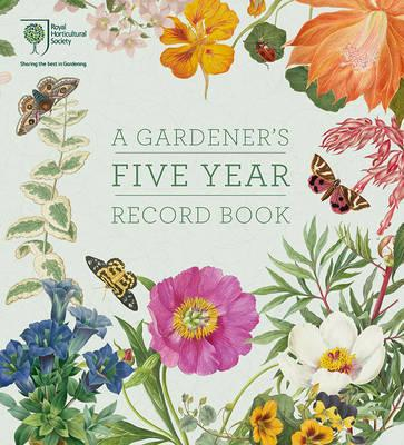 RHS a Gardener's Five Year Record Book (BOK)
