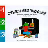 Chester's Easiest Piano Course (BOK)