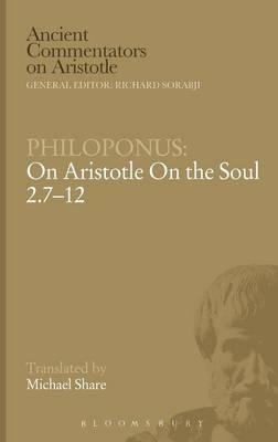 On Aristotle on the Soul 2.7-12 (BOK)