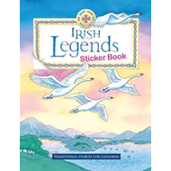 Irish Legends Sticker Book (BOK)