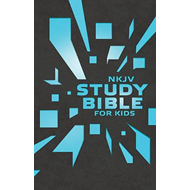 Nkjv Study Bible for Kids Grey/Blue Cover (BOK)