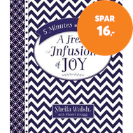 Produktbilde for 5 Minutes with Jesus: A Fresh Infusion of Joy (BOK)
