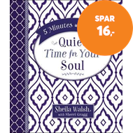 Produktbilde for 5 Minutes With Jesus: Quiet Time for Your Soul (BOK)