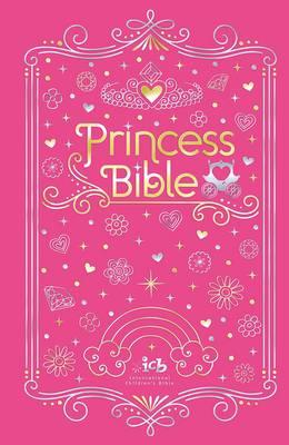 ICB Princess Bible with Coloring Sticker Book (BOK)