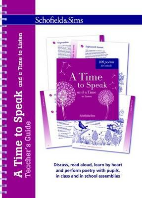 Time to Speak and a Time to Listen Teacher's Guide (BOK)