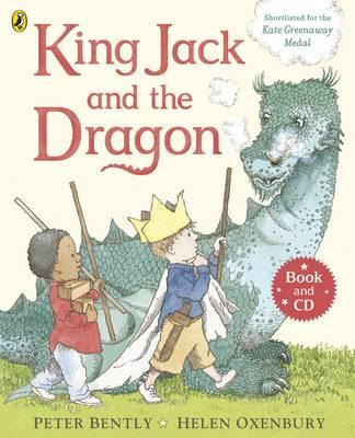 King Jack and the Dragon Book and CD (BOK)