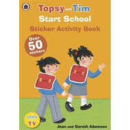 Start School: A Ladybird Topsy and Tim sticker activity book (BOK)