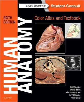 Human Anatomy, Color Atlas and Textbook (BOK)