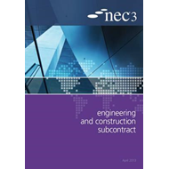 NEC3 Engineering and Construction Subcontract (ECSS) (BOK)