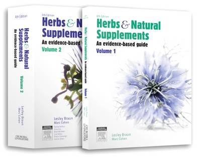 Herbs and Natural Supplements, 2-Volume set (BOK)