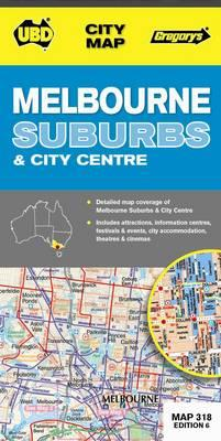 Melbourne Suburbs and City Map 318 (BOK)
