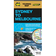 Sydney to Melbourne Map 245 5th (BOK)