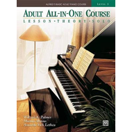 Alfred's Basic Adult All-in-one Piano Course (BOK)