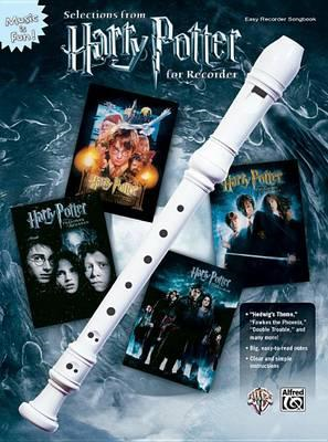 Selections from Harry Potter for Recorder (BOK)