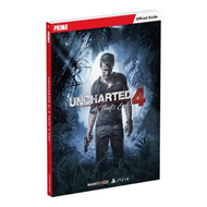 Uncharted 4: A Thief's End Standard Edition Strategy Guide (BOK)