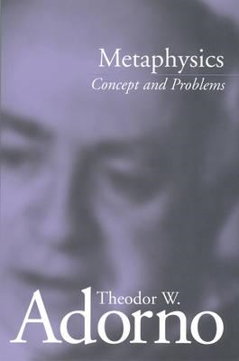 Metaphysics: Concept and Problems (BOK)