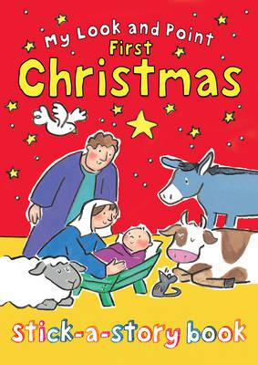 My Look and Point First Christmas Stick-a-Story Book (BOK)
