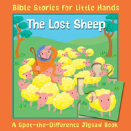 The Lost Sheep: A Spot-the-Difference Jigsaw Book (BOK)