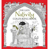 Lion Nativity Colouring Book (BOK)