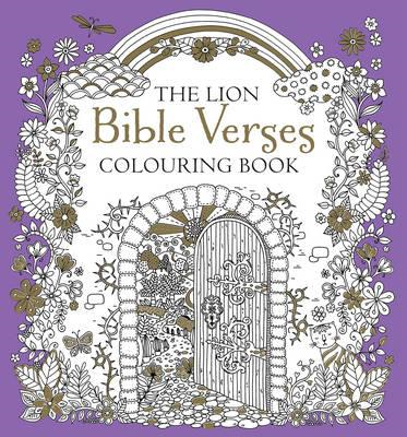Lion Bible Verses Colouring Book (BOK)