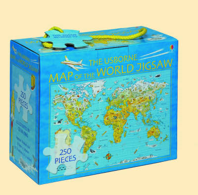Usborne Map of the World Jigsaw (BOK)