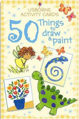 Activity Cards: 50 Things to Draw and Paint (BOK)
