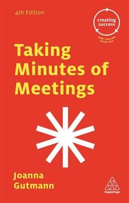 Taking Minutes of Meetings (BOK)