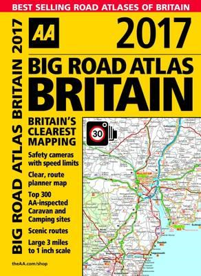 AA Big Road Atlas Britain (BOK)