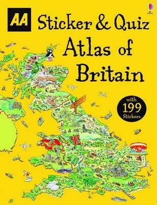 Sticker & Quiz Atlas of Britain (BOK)