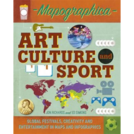 Mapographica: Art, Culture and Sport (BOK)