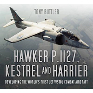 Produktbilde for Hawker P.1127, Kestrel and Harrier - Developing the World's First Jet V/STOL Combat Aircraft (BOK)